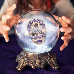 Crystal Ball w/ Badge