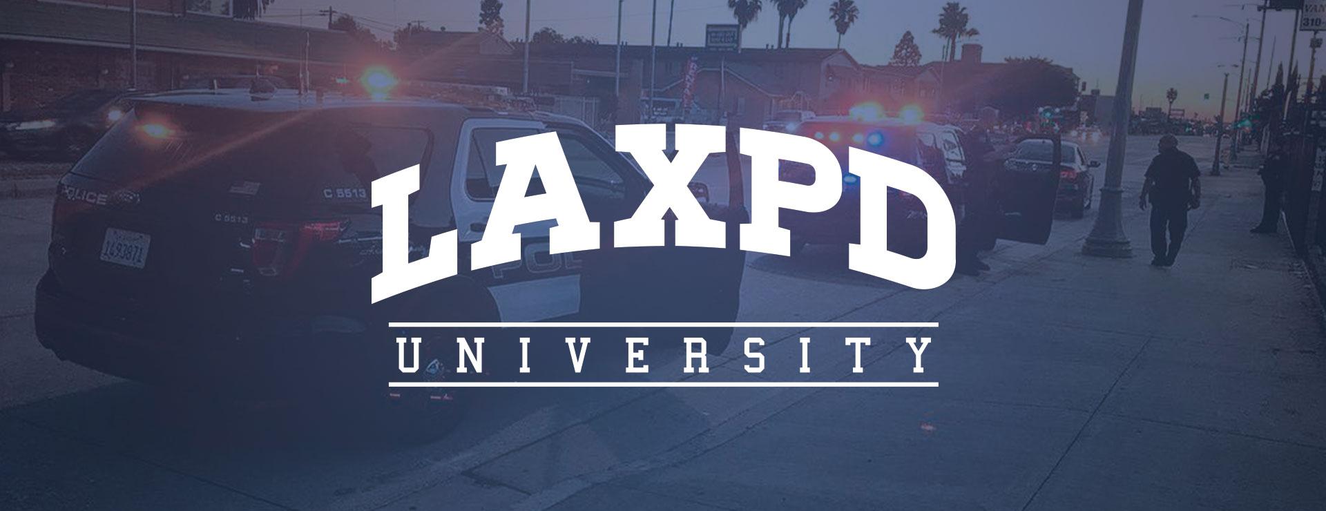 LAXPD University