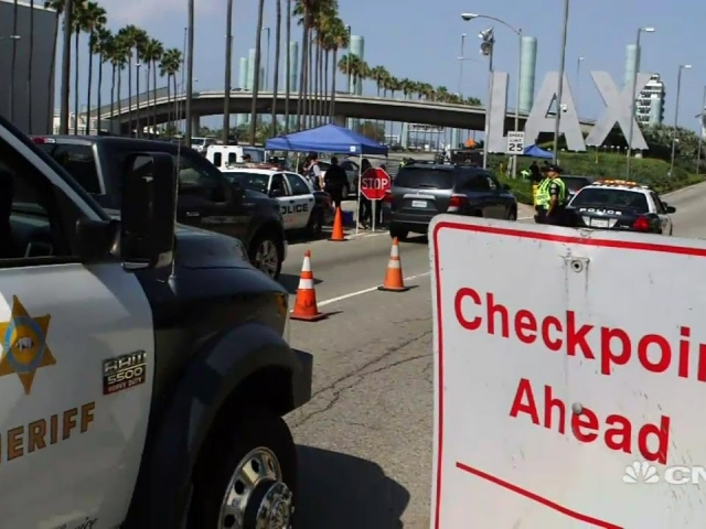 Inside LAX - Los Angeles Airport Police as it targets insider threats