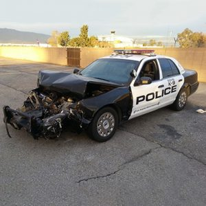 Patrol Car Wreckage
